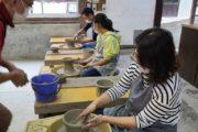 益子で陶芸